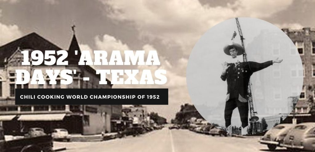 'Arama Days' - Texas header