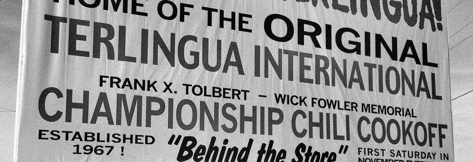 Terlingua International Chili Championship