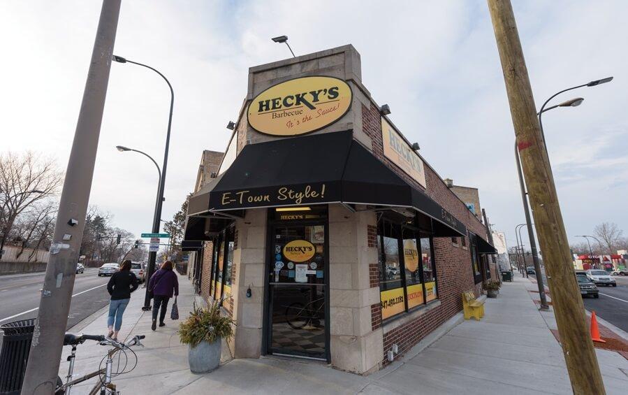 Hecky's BBQ restaurant