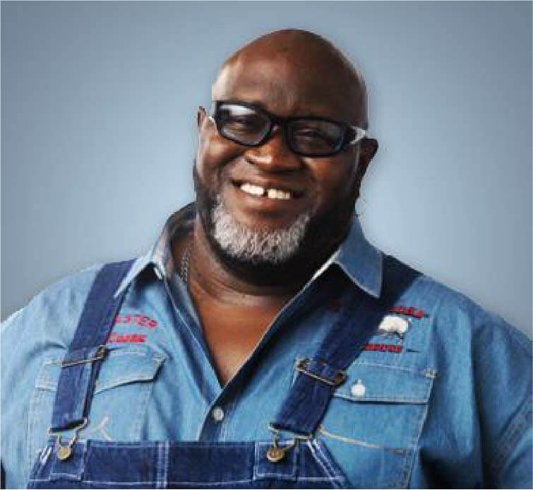 Big Moe Cason judge at Giant National Capital BBQ Competition
