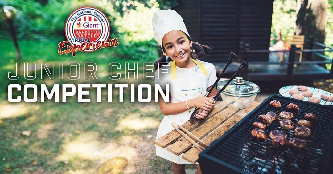 kids at Giant National Capital BBQ Competition