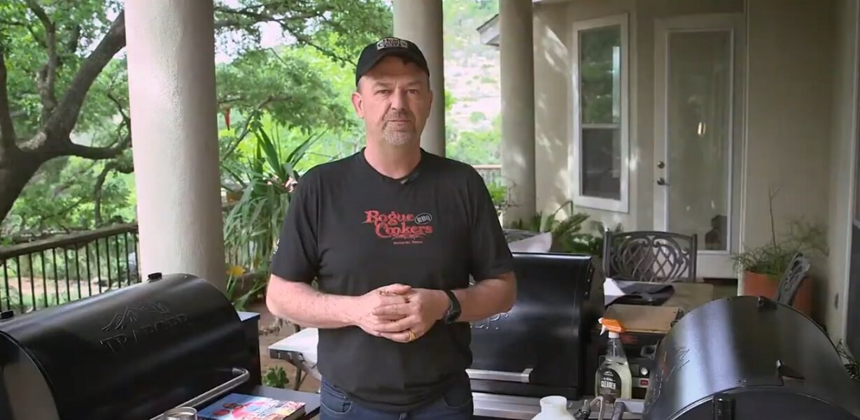 Doug Scheiding from Rogue BBQ Cookers