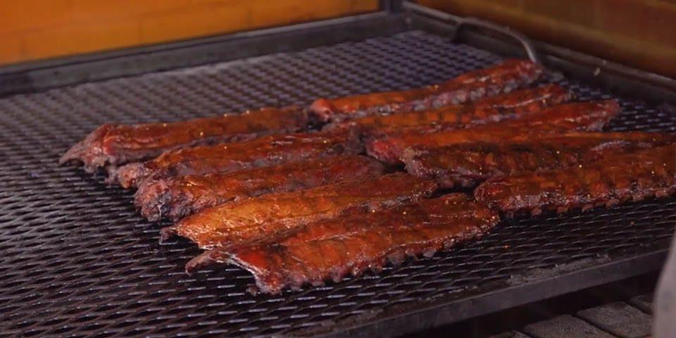 Peg-Leg-Porker-BBQ on grill