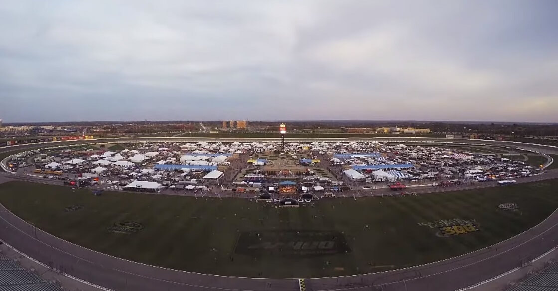 aerial view of American Royal World Series of Barbecue